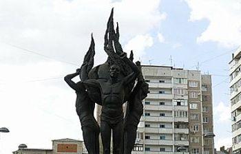 Памятник ликвидаторам аварии на Чернобыльской АЭС г. Краснодар