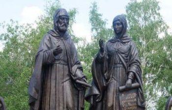 Святые благоверные Петр и  Феврония с. Жайск Вачского р-на Нижегородской обл