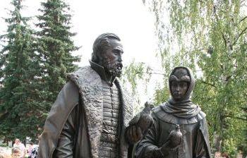 Святые благоверные Петр и Феврония г. Клин Московской обл