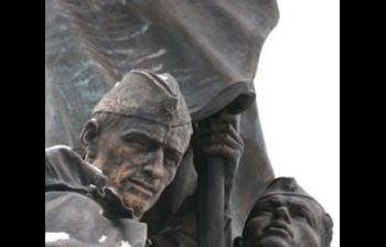 """Мемориал """"В борьбе против фашизма мы были вместе"""", художественное литье из бронзы, г. Москва, Поклонная гора. 2"""