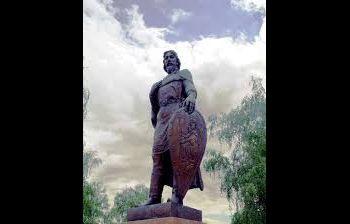 Памятник Александру Невскому г. Владимир. художественное литье из бронзы, гранит 3